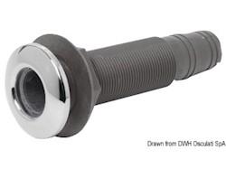 """Scarico tappo inox 1"""" 3/8 x 29/32 mm"""