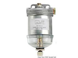 Filtro decantatore per gasolio fabbricato in alluminio pressofuso
