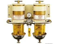 Filtro RACOR - Versione doppia con valvola di selezione