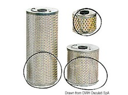 Cartuccia SOLAS per ricambio filtri gasolio