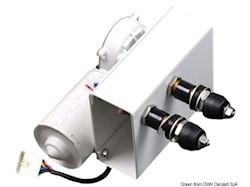 Motore serie 100 W per bracci max 900 mm e spazzole max 1000 mm