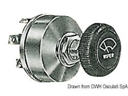 Interruttore di comando per tergicristalli con regolazione di due velocità