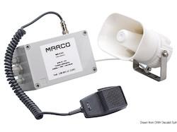 Tromba / fischio elettronico multifunzionale MARCO