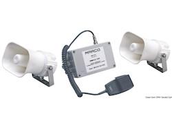 Tromba/fischio elettronico multifunzionale MARCO con segnali codificabili