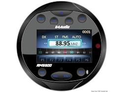 Radio FM/Bluetooth/USB/Mp3 da cruscotto con telecomando.