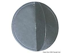 Pallone nero con Ø di mm 300