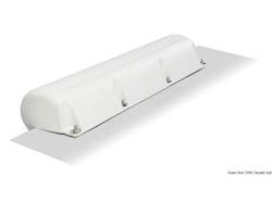 Parabordo in PVC bianco gonfiabile da pontile