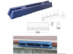 Protezione per pontili/banchine in morbido EVA stampato ad iniezione pieno all'interno