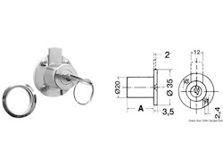 Cilindro per chiusura cassetti