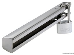 Dispositivo antifurto in acciaio inox per motori fuoribordo