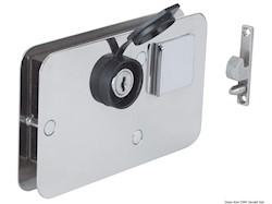 Serratura per porte scorrevoli universale DX/SX
