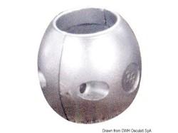 Anodo in zinco barra accoppiamento DPH/DPR