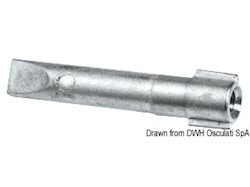 Anodo cilindro per Yamaha 40/200 HP