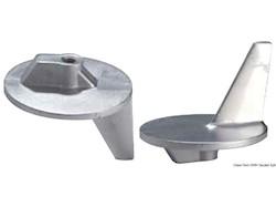 Anodo per piedi con eliche in acciaio inox 50/140 HP