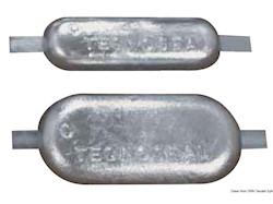 Anodo ovale con inserto