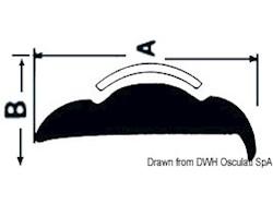 Base pesante per profili parabordi