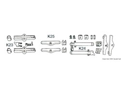 Kit adattamento cavi K23, K24, K25
