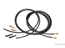 Kit 2 tubi flessibili rinforzati raccordati ad una estremità