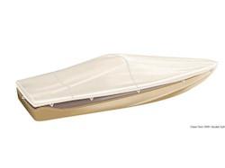 Telone TESSILMARE per ricovero imbarcazioni, modello per imbarcazioni con parabrezza e Day Cruiser