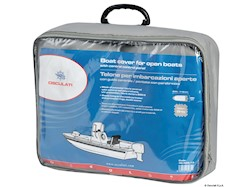 Telone per imbarcazioni aperte con guida centrale/pontate con parabrezza
