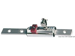 Carrello scorrevole regolabile per tendalini di scafi oltre i 10 m