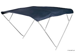 Capottina Bimini Depth 4 archi 175/185 cm blu