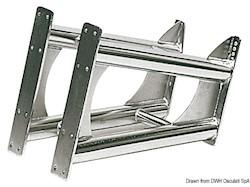 Supporto motore BRACKET in acciaio inox