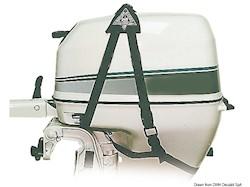 Imbragatura di sollevamento per motori fuoribordo