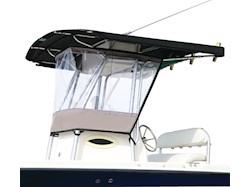 Protezione universale trasparente anti-spruzzi/anti-pioggia per T-Top