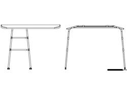 Targa Top in alluminio