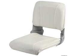 Sedile con schienale ribaltabile e imbottitura sfilabile