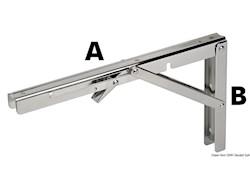 Braccio pieghevole per tavoli