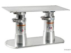Gamba tavolo doppia Giant Twins