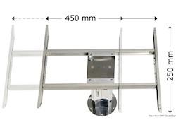Traslatore bidirezionale per gambe tavolo