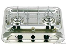 Piano cottura DOMETIC a 2 fuochi senza lavello