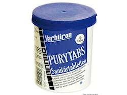 Pastiglie sanitarie per WC Pury Tabs YACHTICON