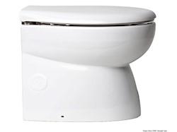 WC elettrico carenato con tazza in porcellana bianca