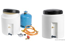 Contenitore per bombole gas a tenuta stagna