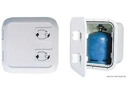 Gavone in plastica per alloggiare bombole con ventilazione remota