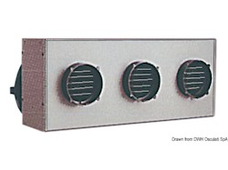 Riscaldatore centralizzato HEATER CRAFT a tre uscite
