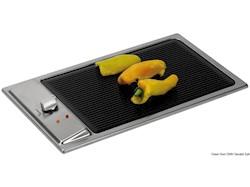 Barbecue elettrico vetroceramico in Acciaio Inox