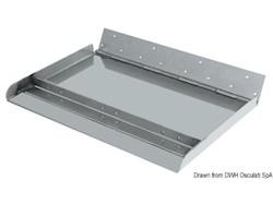 Coppia flap serie Maxi con profondità di 300 mm, con nervatura laterale + nervatura centrale
