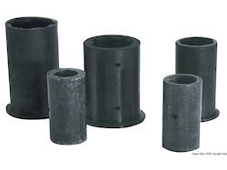Boccola per linee d'asse completamente in gomma; versione esterno/interno in millimetri