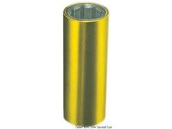 Boccola per linee d'asse con armatura esterna in ottone; versione esterno pollici, interno millimetri