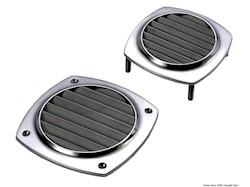 Presa d'aria in Acciaio Inox AISI 316 microfuso e lucidato a specchio