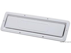 Presa aria per locale motori in ABS bianco resistente UV