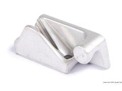 Strozzascotte CLAMCLEATS Side Silver Compact