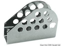 Attacco per stralli in acciaio inox