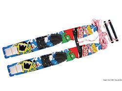 Sci nautici AIRHEAD Monsta Splash Trainer Skis in legno trattato