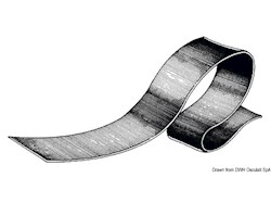 Piattina salvachiglia o come bordo laterale in EPDM